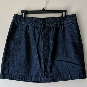 Old Navy Jean Mini Skirt (Size 10)